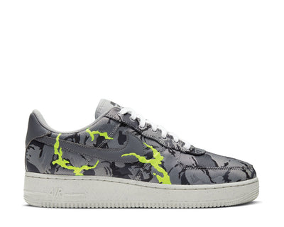Nike Air Force 1 '07 LX LT Smoke Grey / Smoke Grey - Electric Green CV1725-001