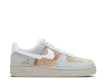 Nike Air Force 1 '07 LX Photon Dust / Photon Dust - Team Orange DD1175-001