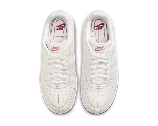 Nike Air Force 1 '07 LX Summit White / Summit White - University Red CI3445-100