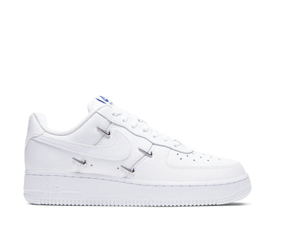 Nike Air Force 1 '07 LX White / White - Hyper Royal - Black CT1990-100