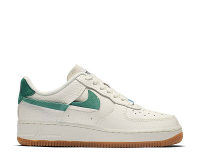 Nike Air Force 1 '07 LXX Sail / Mystic Green - Light Blue - White BV0740-100