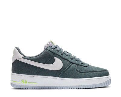 Nike Air Force 1 '07 Ozone Blue / White - Barely Volt CN0866-001