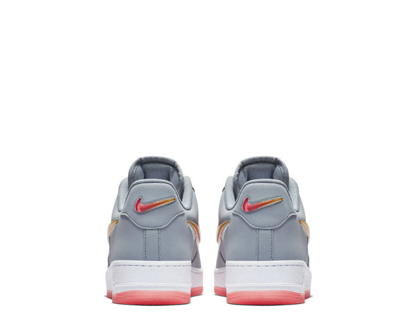 competitive price 37b93 6d504 ... NIke Air Force 1  07 Premium 2 Obsidian Mist Hot Punch University Red  AT4143 ...