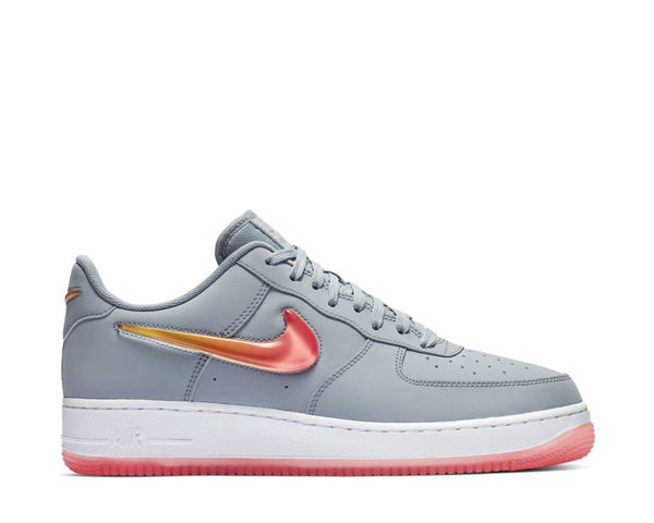 0555c698e6 NIke Air Force 1 '07 Premium 2 Obsidian Mist Hot Punch University Red  AT4143 ...