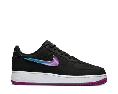 Nike Air Force 1 '07 Premium 2 Black Active Fuchsia Blue Lagoon White AT4143 001