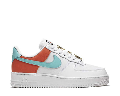 Nike Air Force 1 '07 SE White Light Aqua Cosmic Clay AA0287-106