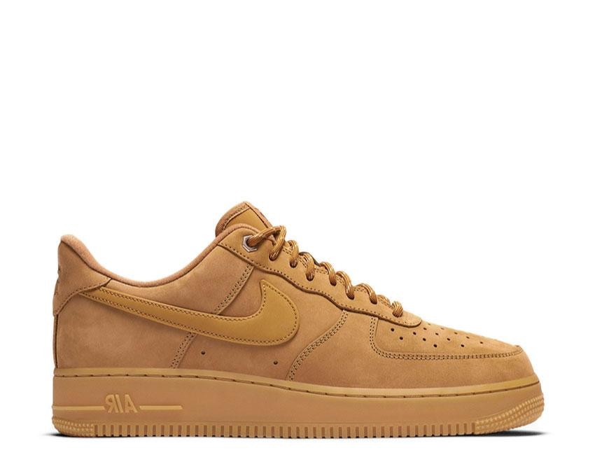 hada Zapatos antideslizantes comprender  Nike Air Force 1 '07 WB Wheat CJ9179-200 - NOIRFONCE