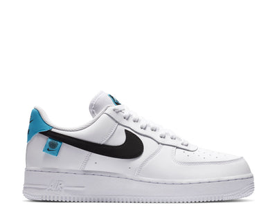 Nike Air Force 1 '07 White / Blue Fury - Black CK7648-100