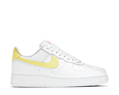 Nike Air Force 1 '07 White / LT Zitron - Bright Mango - White 315115-160