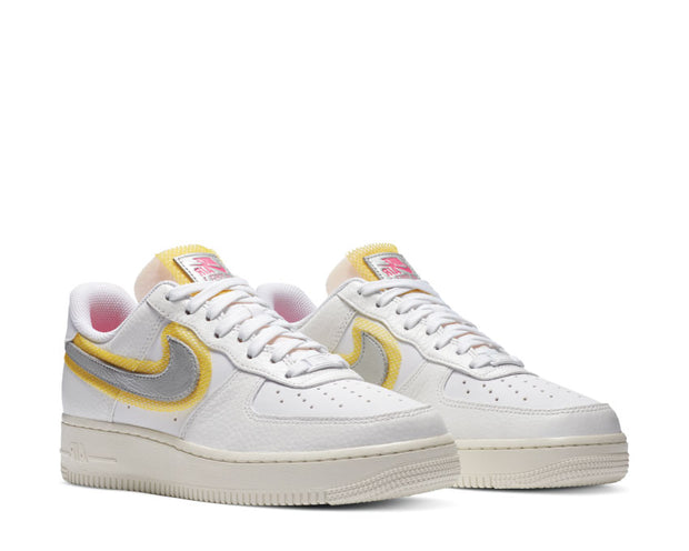 air force 1 07 3 white/university gold