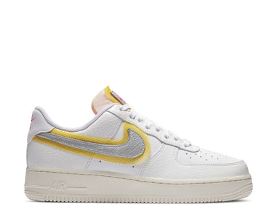 Nike Air Force 1 '07 White / Metallic Silver - University Gold CZ8104-100