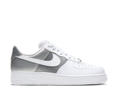 Nike Air Force 1 '07 White / White - Metallic Silver DD6629-100