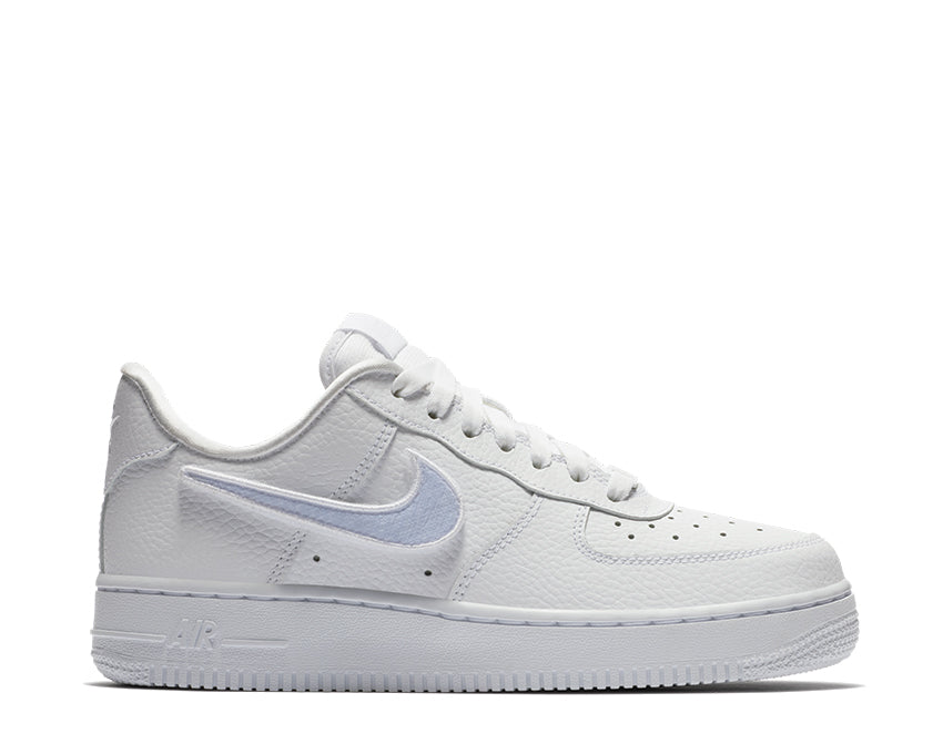 Nike Air Force 1-100 White Swoosh Velcro AQ3621-111