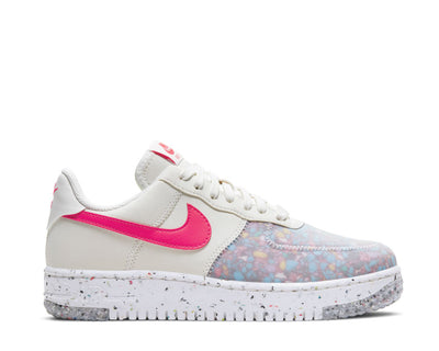 Nike Air Force 1 Crater W Summit White / Siren Red - Summit White CT1986-101