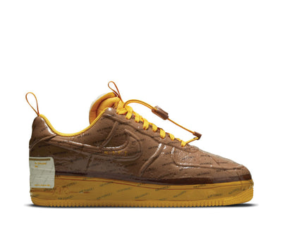 Nike Air Force 1 Experimental Archaeo Brown / University Gold - White CZ1528-200