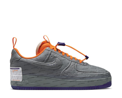 Nike Air Force 1 Experimental LT Smoke Grey / Court Purple - Total Orange CZ1528-001