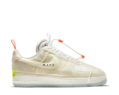 Nike Air Force 1 Experimental White / Sail - Atomic Orange - Black CV1754-100