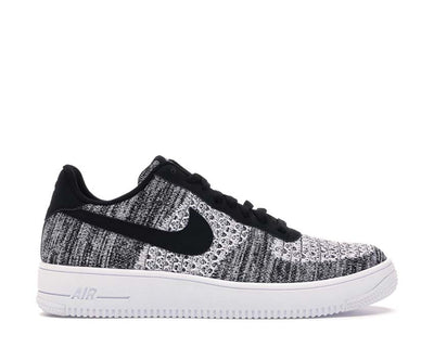 Nike Air Force 1 Flyknit 2.0 Black / Pure Platinum - Black - White AV3042-001