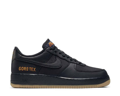 Nike Air Force 1 GTX Black / Black - Light Carbon - Bright Ceramic CK2630-001