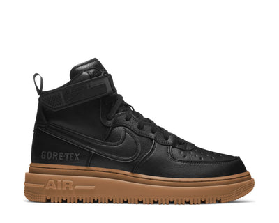Nike Air Force 1 GTX Boot Black / Black - Anthracite - Gum Med Brown CT2815-001