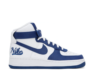 Nike Air Force 1 High '07 EMB White / Rush Blue - Rush Blue - White DC8168-100