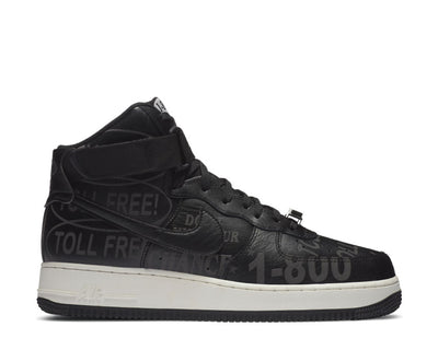 Nike Air Force 1 High '07 Premium Black / Black - Sail - Vast Grey CU1414-001