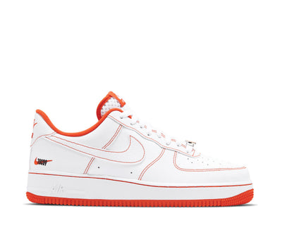 Nike Air Force 1 Low Rucker Park White / Team Orange - Black CT2585-100