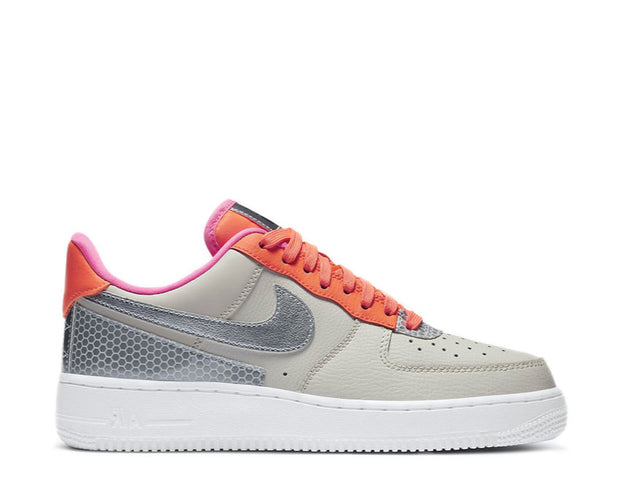 Nike Air Force 1 Low 3M Light Orewood Brown / Silver CT1992-101