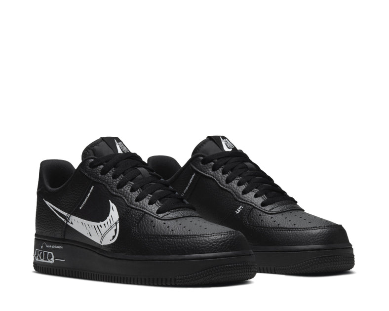 Nike Air Force 1 LV8 Schematic Black