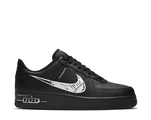 Nike Air Force 1 LV8 Utility Black / White - Black CW7581-001