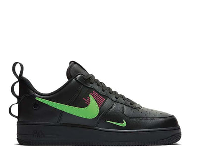 Nike Air Force 1 LV8 Utility Black / Scream Green - Hyper Pink CQ4611-001