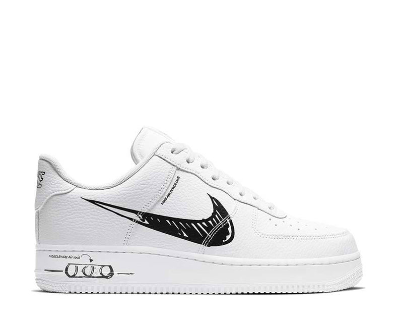 Buy Nike Air Force 1 Utility Schematic White Cw7581 101 Noirfonce
