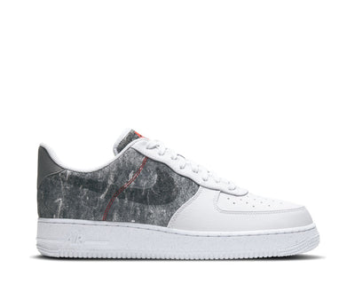 Nike Air Force 1 '07 LV8 White / Clear - LT Smoke Grey - Black CV1698-100