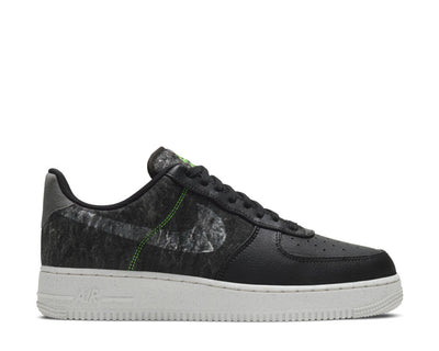 Nike Air Force 1 '07 LV8 Black / Clear - Electric Green - Light Bone CV1698-001