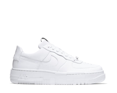 Nike Air Force 1 Pixel Whte / White - Back - Sail CK6649-100