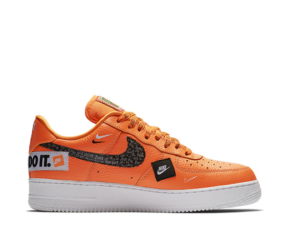"Nike Air Force 1 Premium  Orange ""Just Do It"""