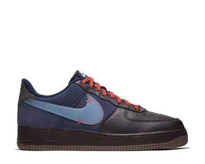 Nike Air Force 1 PRM Burgundy Ash / Celestine Blue CQ6367-600