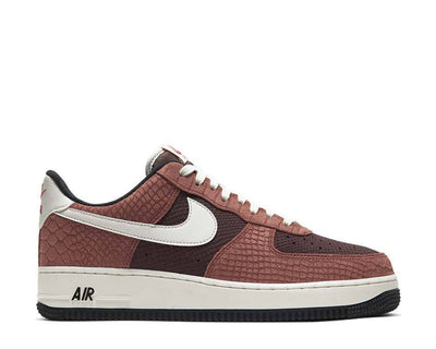 Nike Air Force 1 PRM Red Bark / Sail - Earth - University Red CV5567-200