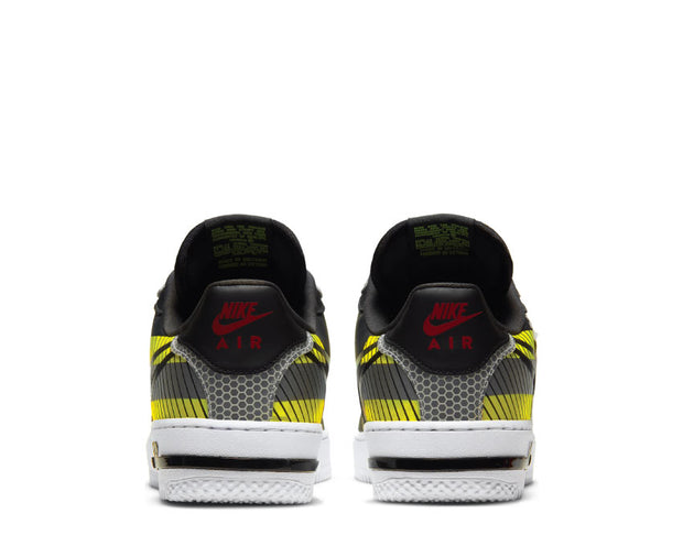 Nike Air Force 1 React LX Anthracite / Black - Volt - Habanero Red CT3316-003