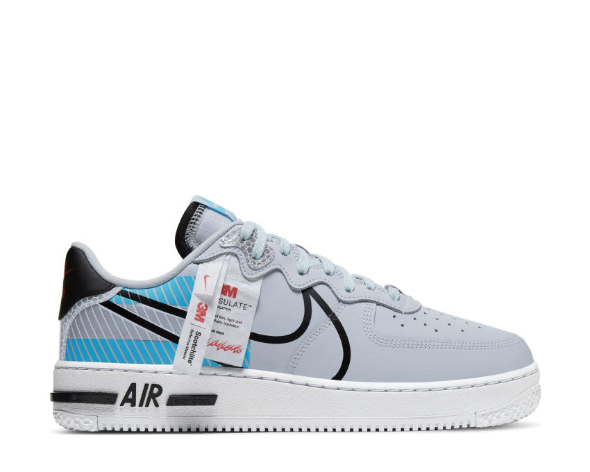 Acheter Nike Air Force 1 React LX CT3316-001 - NOIRFONCE