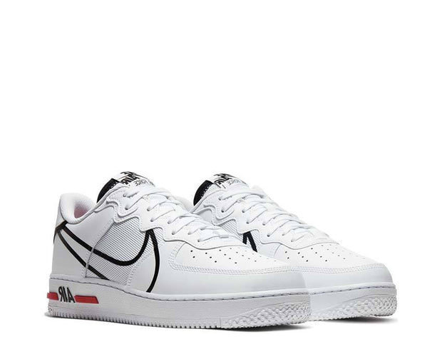 Nike Air Force 1 React White CD4366 100 Achat en ligne