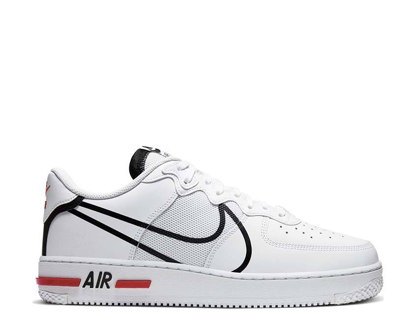 Ojalá Sherlock Holmes perrito  Nike Air Force 1 React White CD4366-100 - Buy Online - NOIRFONCE