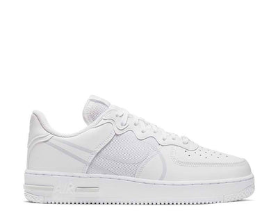 Nike Air Force 1 React White / Pure Platinum CT1020-101