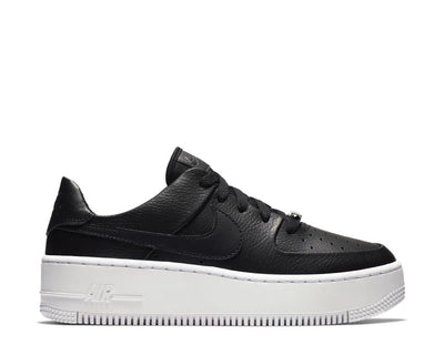 Nike Air Force 1 Sage Low Black / Black - White AR5339-002