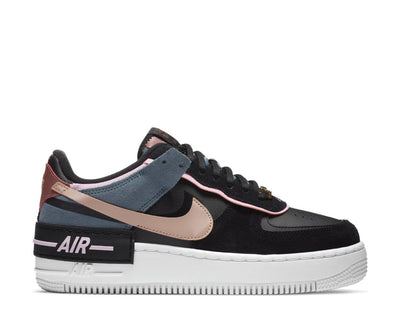 Nike Air Force 1 Shadow Black / Metallic Red Bronze - LT Arctic Pink CU5315-001