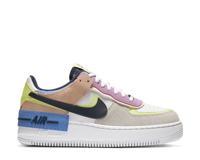 Nike Air Force 1 Shadow Photon Dust / Royal Pulse - Barely Volt CU8591-001