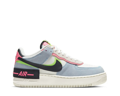 Nike Air Force 1 Shadow Sail / Black - Sunset Pulse - LT Armory Blue CU8591-101