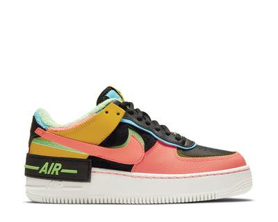Nike Air Force 1 Shadow SE Solar Flare / Atomic Pink - Baltic Blue CT1985-700
