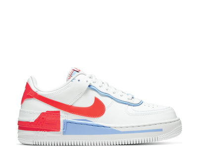 Nike Air Force 1 Shadow SE Summit White / Summit White - Team Orange CQ9503-100
