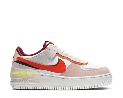Nike Air Force 1 Shadow Team Red / Orange - Orange Pearl - Volt CU8591-600